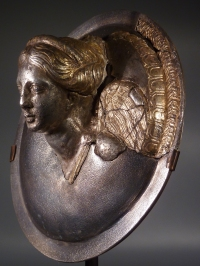 Greek silver-gilt Nike.