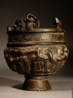 Early Christian bronze censer with Christological scenes