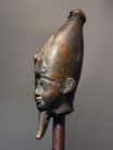 Egyptian head of Osiris
